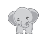 Kirsten Sonya Hansen Final Logo white background-baby elephant
